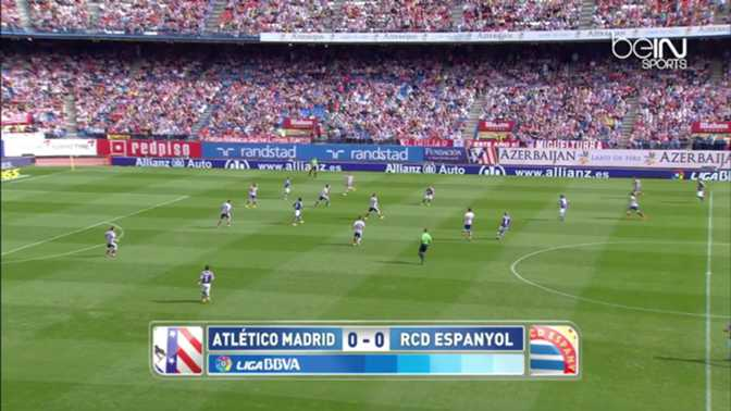 Liga : Atlético Madrid 3-0 Espanyol