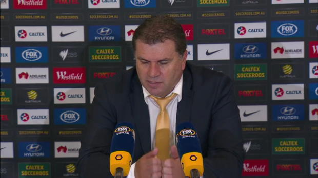 Caltex Socceroos press conference