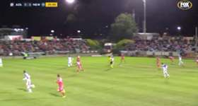 It took just one goal from an unlikely source for Adelaide United to see off the Newcastle Jets in the Westfield FFA Cup.