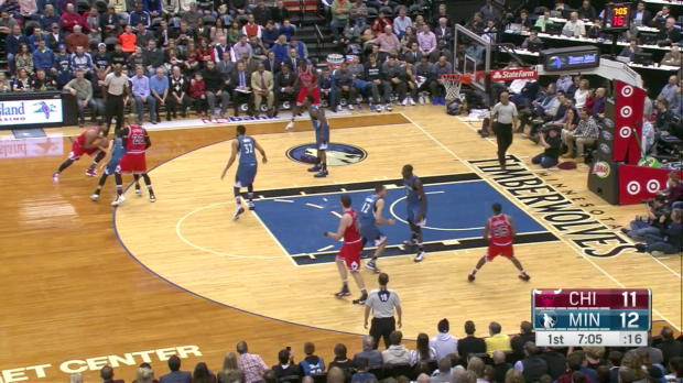 WSC: Derrick Rose with 10 Assists against the Timberwolves
