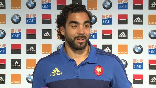 XV  de France - Huget - 'Je savoure pleinement'