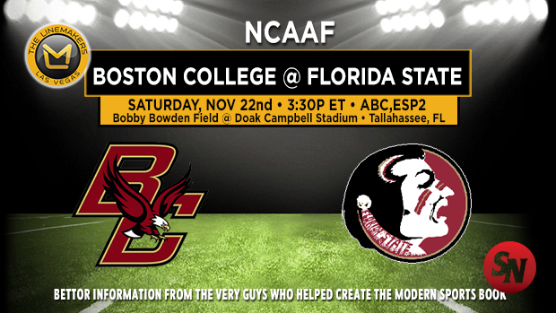 Boston College Eagles @ Florida St Seminoles