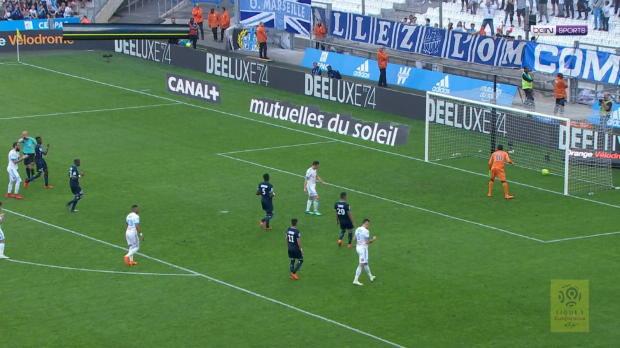Torehagel in Marseille: OM schießt Lille ab