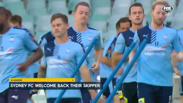 Sydney FC welcome back their skipper