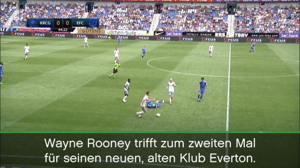 Nächstes Tor! Rückkehrer Rooney rockt weiter