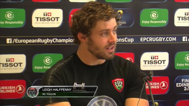 RCT - Halfpenny - 'On veut gagner la Champions Cup'