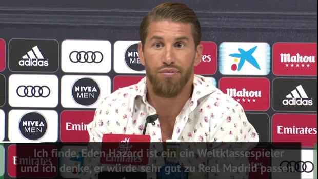 """Ramos: Hazard? """"Würde sehr gut zu uns passen"""""""