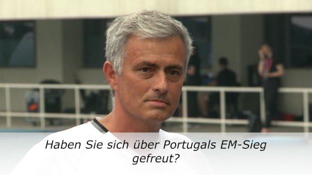 "Mourinho kontert Journalisten: ""Brillante Frage"""