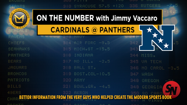 Jimmy V on Cardinals @ Panthers