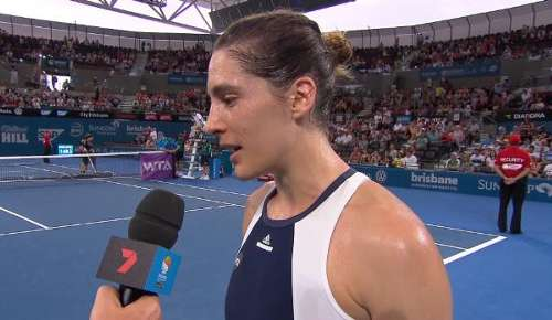 Petkovic Interview: WTA Brisbane 1R