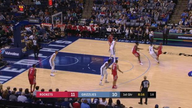 GAME RECAP: Rockets 105, Grizzlies 83