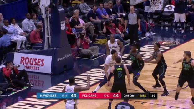 WSC: Anthony Davis 37 points vs the Mavericks