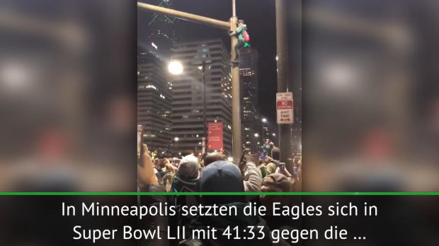Erster Super-Bowl-Sieg: Mega-Party in Philly