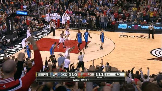 NBA - Les Blazers font tomber OKC