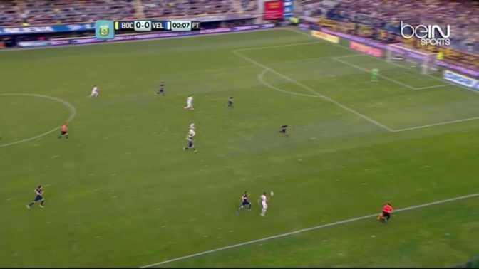 Argentine : Boca Juniors 3-1 Velez