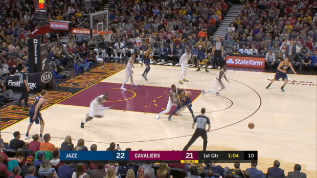 GAME RECAP: Cavaliers 109, Jazz 100