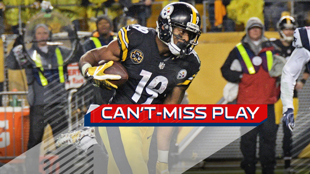 Can't-Miss Play: JuJu Smith-Schuster escapes down sideline for 69-yard play