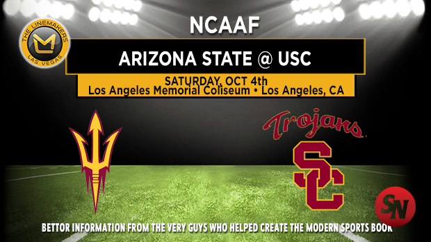 Arizona State Sun Devils @ USC Trojans