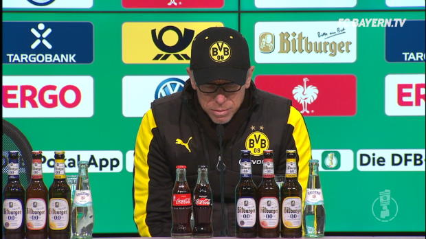 """Stöger: """"Ärgere mich über die erste Hälfte"""""""