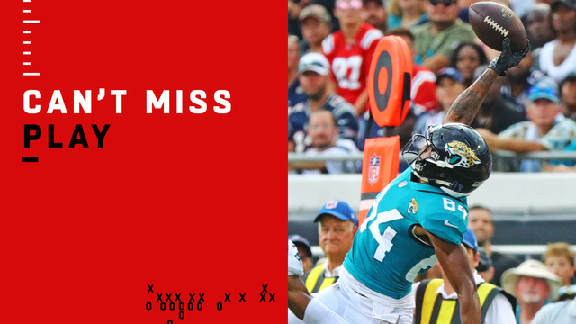 Can't-Miss Play: Keelan Cole makes unreal one-handed catch