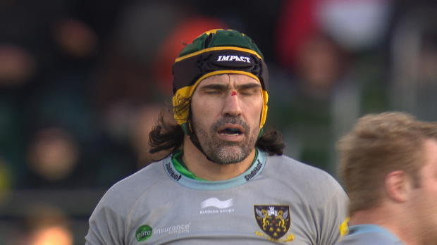 Aviva Premiership - Victor Matfield's one handed take