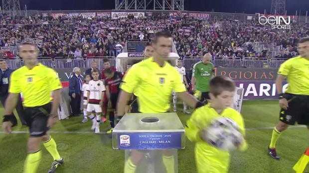 Serie A : Cagliari 1-1 AC Milan