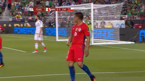 Copa America: 7:0! Vargas zerstört Mexiko