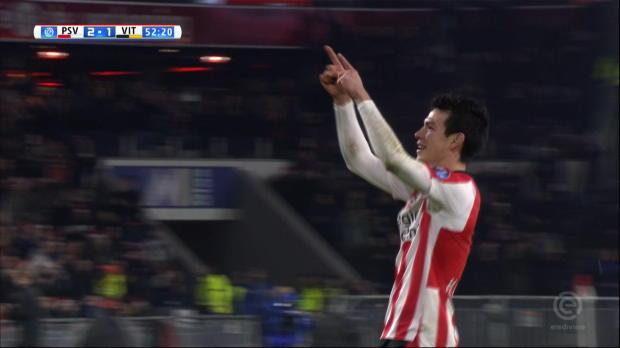 Lozanos Weitschuss-Hammer sichert PSV den Sieg
