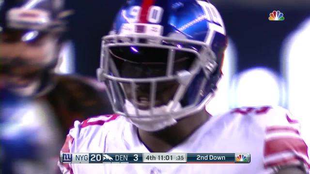 Jason Pierre-Paul does Hayden's sack celebration