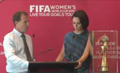 Head Coach Alen Stajcic spoke with SBS's Lucy Zelic about the squad's progress and the development of women's football in Australia as part of the FIFA 'Live Your Goals' Women's World Cup Trophy Tour.