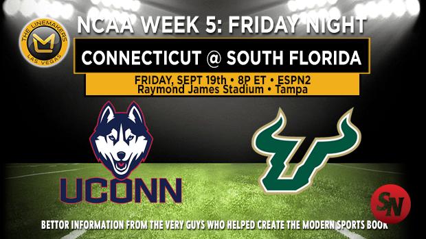 Connecticut Huskies @ South Florida Bulls