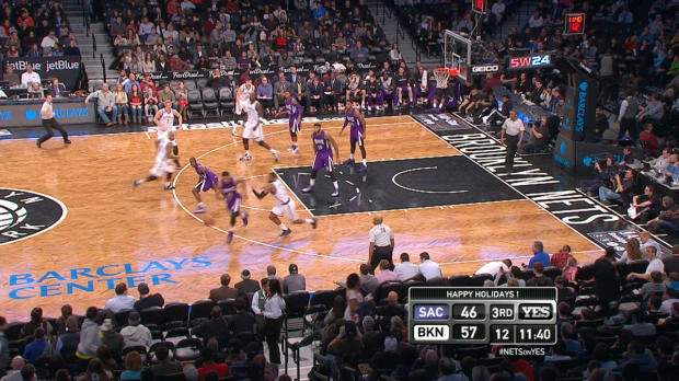 Steal of the Night - Rudy Gay