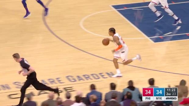 WSC: Joel Embiid 29 points vs the Knicks