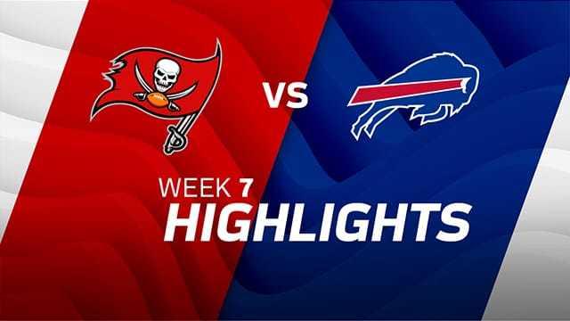 Tampa Bay Buccaneers vs. Buffalo Bills highlights | Week 7