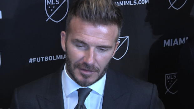 """Beckham: Miami """"nicht nur ein Team in der MLS"""""""