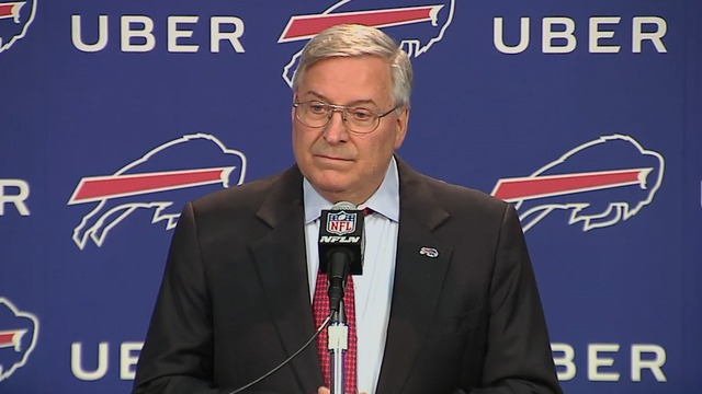 Terry Pegula: 'This was not an easy decision'