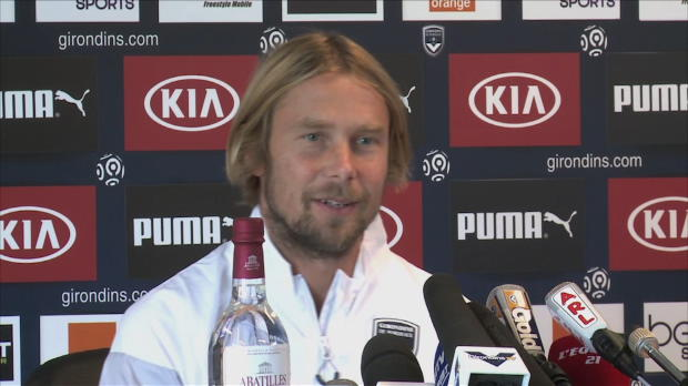 """Foot : Girondins - Plasil veut """"prendre des points"""" à Paris"""
