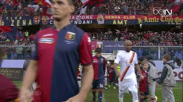 Serie A : Genoa 0-1 AS Rome