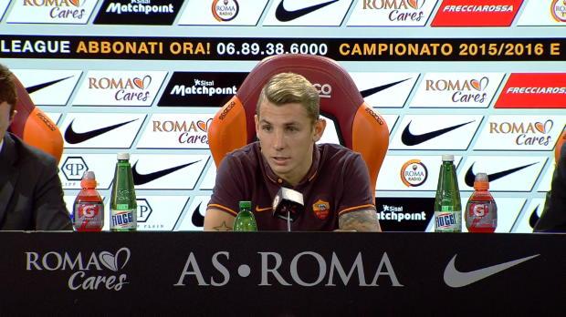Roma - Digne d�j� pr�t � jouer contre la Juve