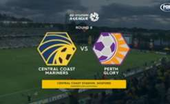 The Mariners netted a goal in each half as they beat the Glory 2-0 in Gosford on Thursday night.