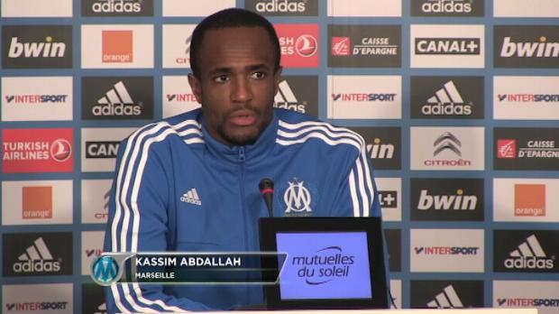 CDF - OM, Abdallah : 'Il faut garder l'�tat d'esprit'