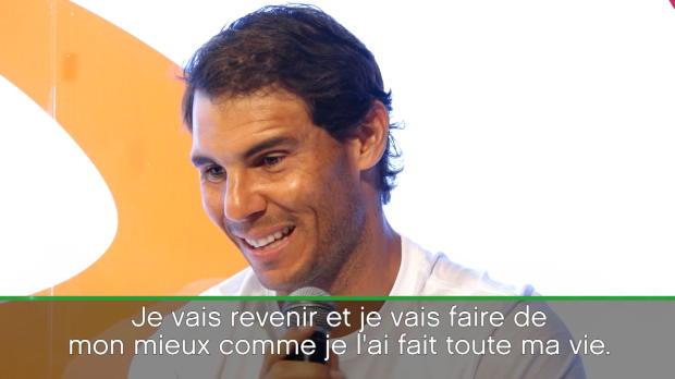 : Roland-Garros - Nadal - 'Paris sera toujours très spécial pour moi'