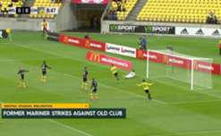 Wellington Phoenix have kept touch with the top six following a hard-fought 1-0 win over Central Coast Mariners at Westpac Stadium.