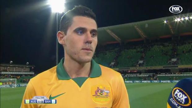 Rogic revels in Socceroos return