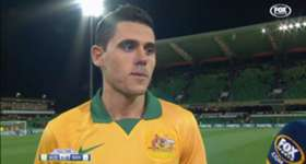 Tom Rogic was thrilled to be back on the international stage after his brace against Bangladesh.