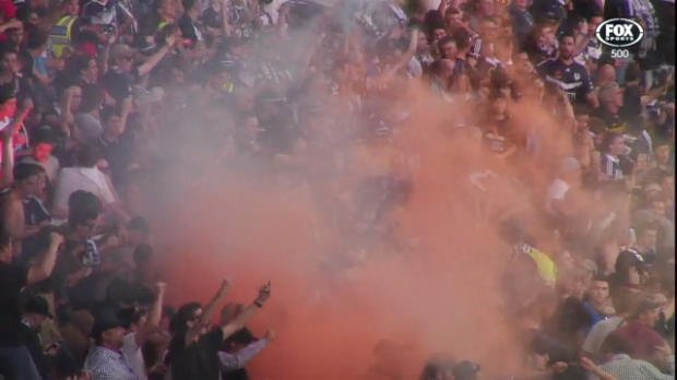 Victory fined for fan behaviour