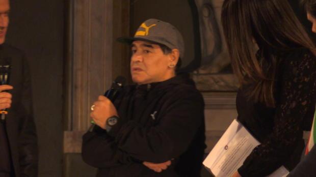 """Argentinien: Maradona: """"Messi ist der Beste"""""""