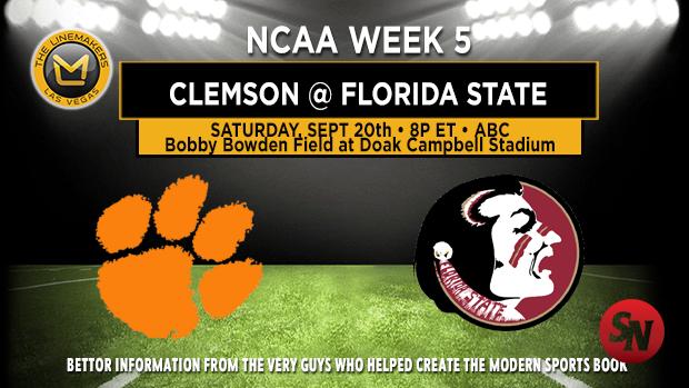 Clemson Tigers @ Florida State Seminoles
