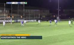 Canberra Olympic are through the FFA Cup Semi-Finals after a last-gasp 1-0 win over Green Gully.