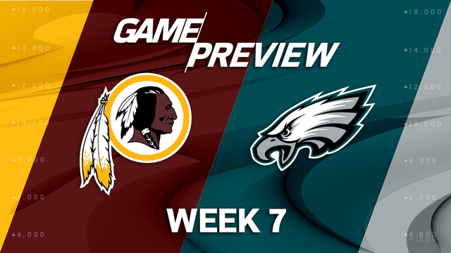 Washington Redskins vs. Philadelphia Eagles preview | 'NFL Playbook'
